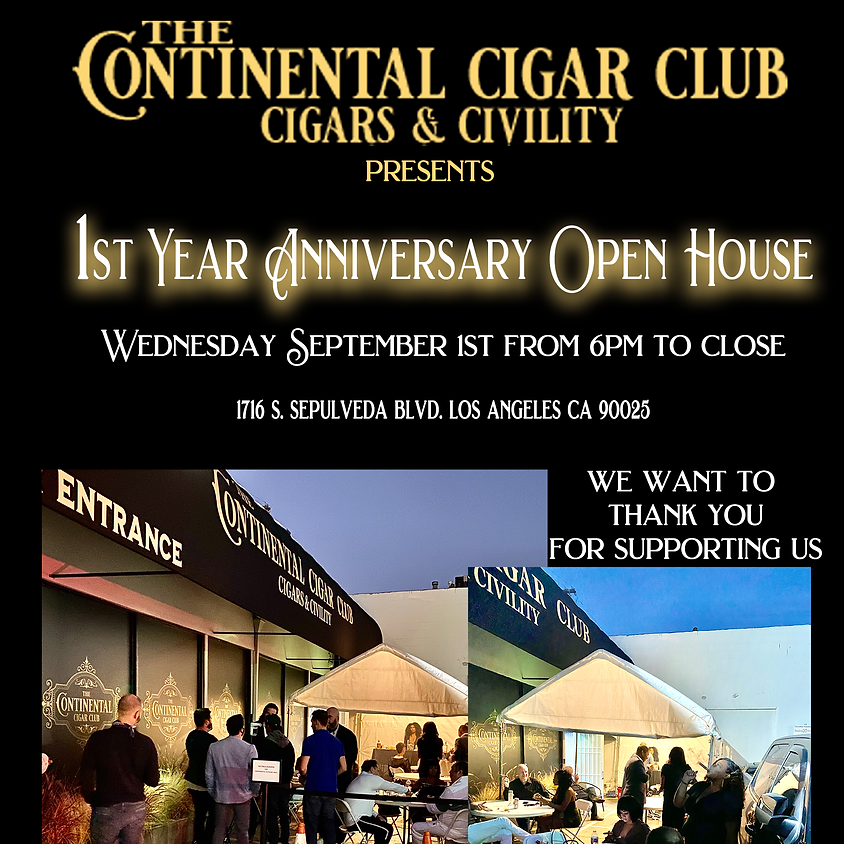 1st Year Anniversary Party