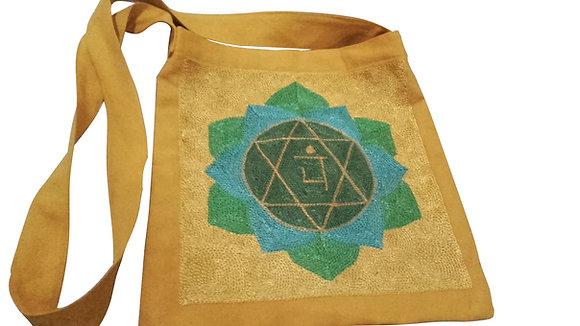 Rainbow Magic Heart Chakra Design Shoulder Bag