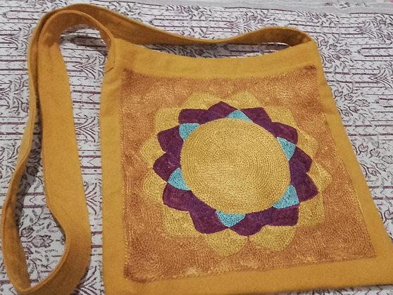 Rainbow Magic Crown Chakra Design Shoulder Bag