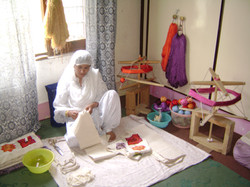 Amina in Action