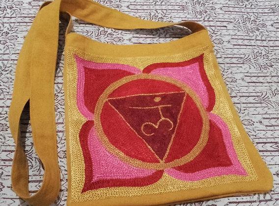 Rainbow Magic Root Chakra Design Shoulder Bag