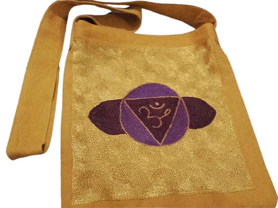 Rainbow Magic Third Eye Chakra Design Shoulder Bag