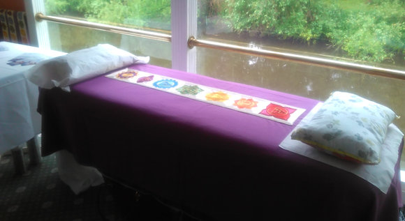 Transference of Healing. Stunning Chakra Design Healers/Therapists Couch Cover