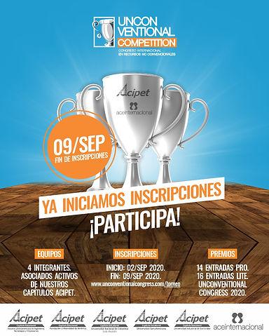 02.09.2020 - Lanzamiento UNCONVENTIONAL