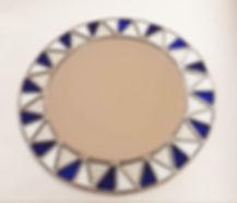 DAZELLE  - Miroir-soleil-bleu-et-blanc-a
