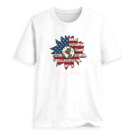USA Flower ~ T-Shirt