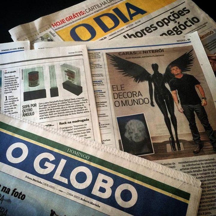 Fechando o mês de janeiro muito agradecido._Obrigado Luiz André Alzer (O Globo) e Paola Lucas (O Dia