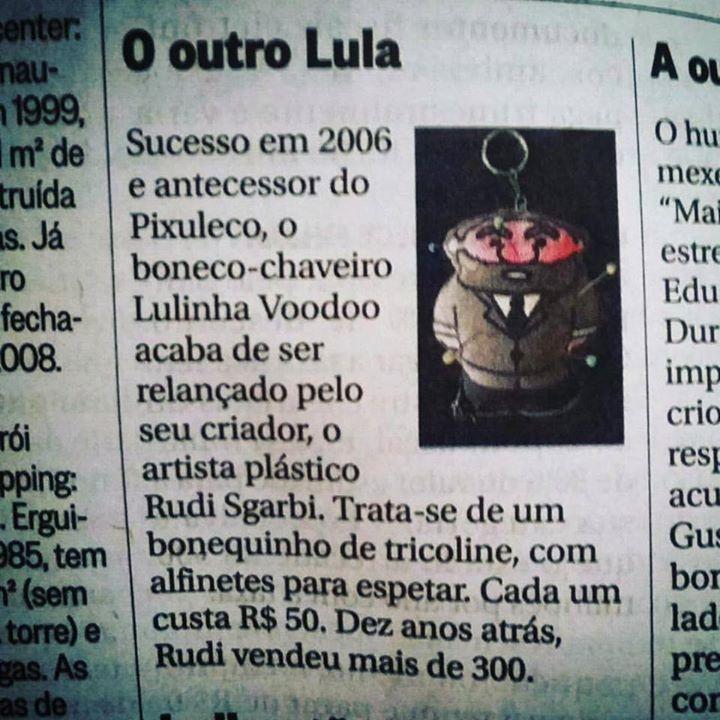 O Globo, Coluna _Outra Coisa_ Luiz André Alzer!!_Lulinha Voodoo retornando aos jornais em grande est