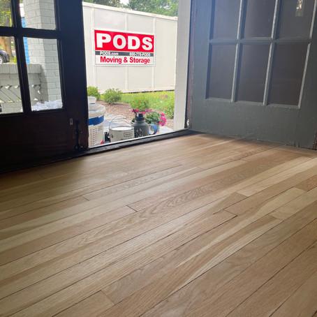 Storage During Wood Floor Renovations