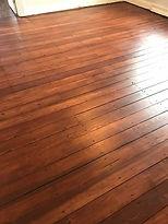 Pine Floor Refinish