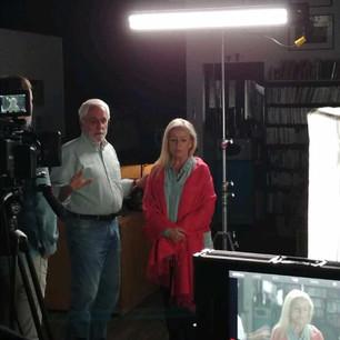 With Mark Irwin - Cinematographer