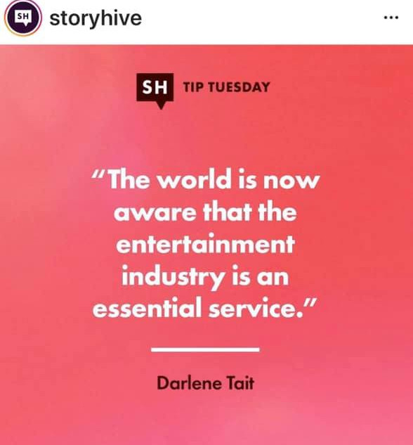 Quoted by StoryHive!