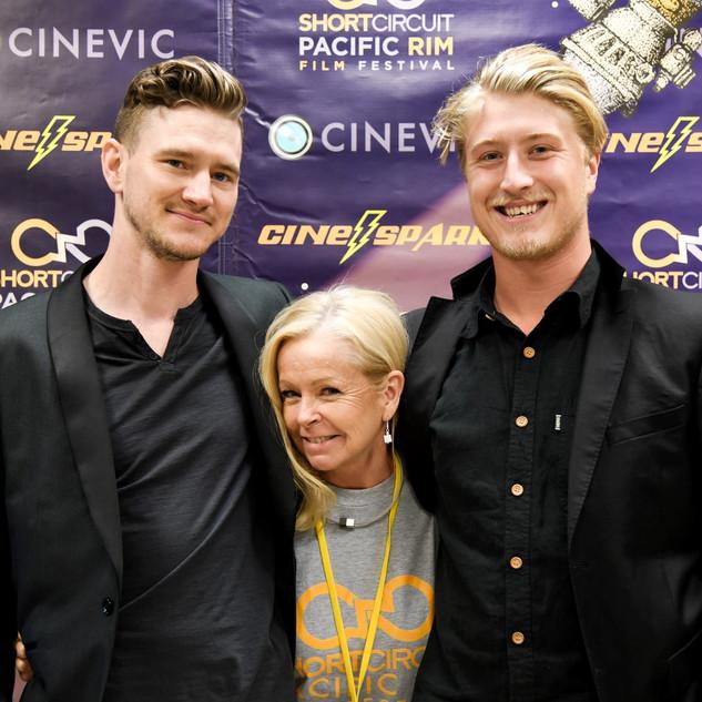 "With Director Alex ""Scram"" Miller and DOP Luke Connor"