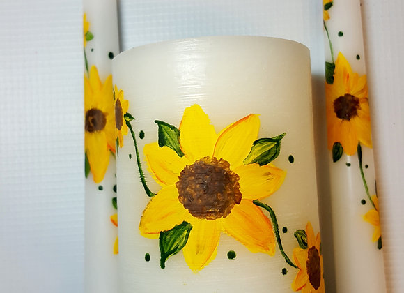 Sunflower Candle Set