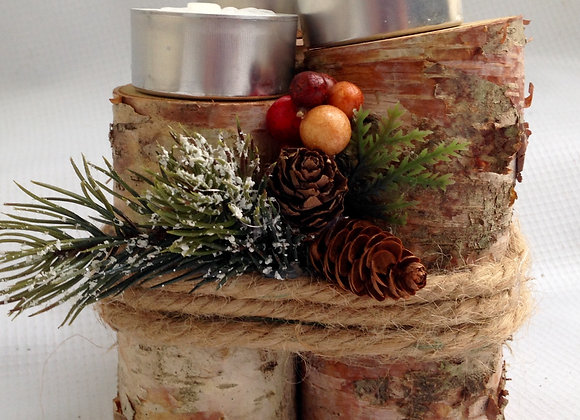 Floral Holiday Centerpiece