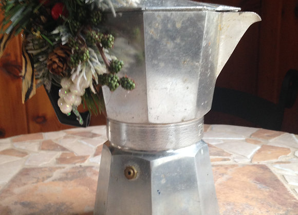 Holiday Centerpiece Rustic Italian Coffee Maker