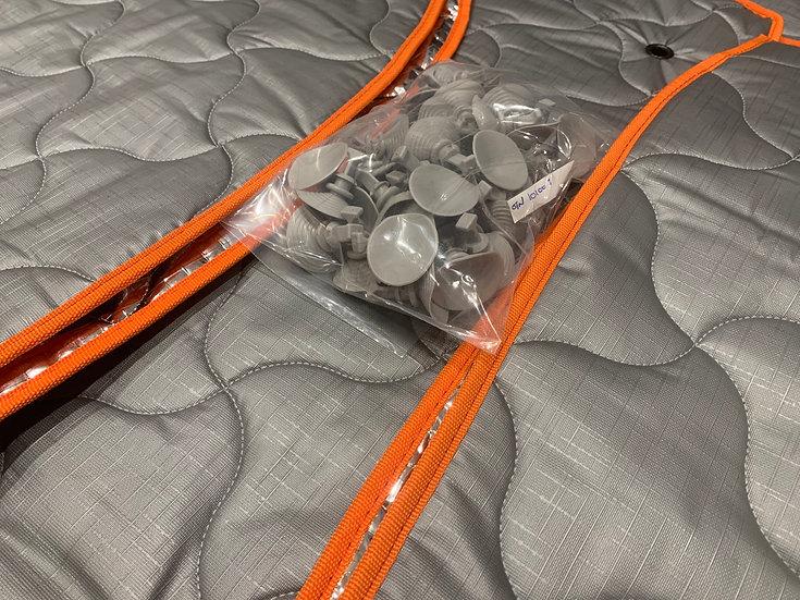 Orange Binding   Thermal Blinds