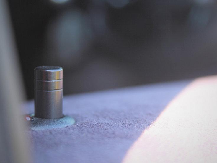 Black | Machined | Door Lock Pins