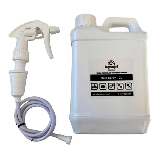 Lanoguard Moto Spray | Superior Rust prevention + waterproofing