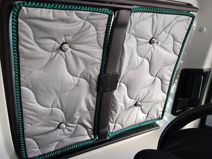 VW Caddy Split Window Front Quarters