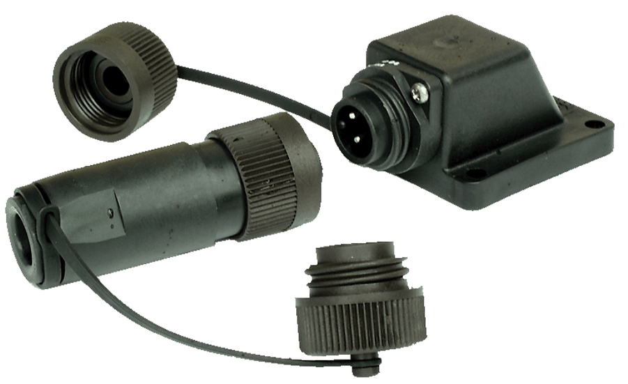 Angled | 240V INLET Electric Hookup IP67 | Connector