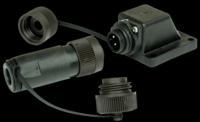 BACK ORDER | Angled | 240V Electric Hookup IP67 | Connector