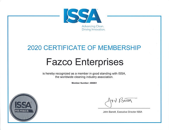 Fazco Certification ISSA.jpeg