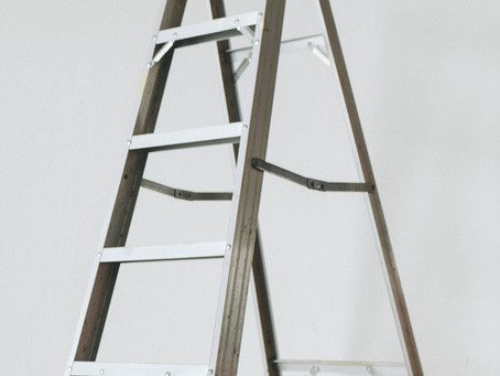 When is a bicycle a ladder?