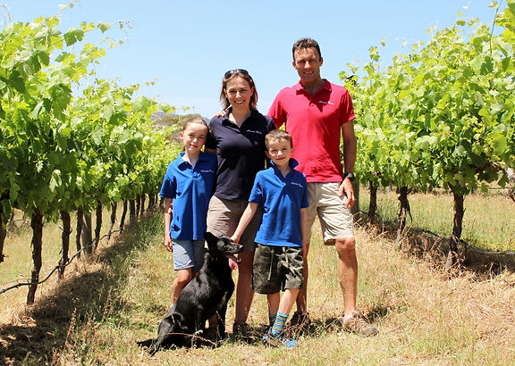 The owners of Allusion Wines