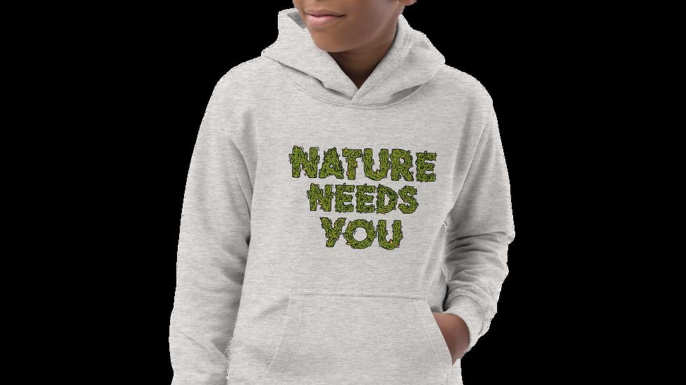nature needs you. Hoodie