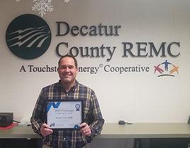 Decatur County REMC - 10% increase in em