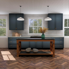 Kitchen desiner 3D rendering