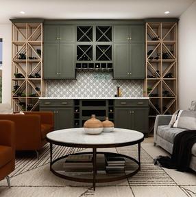 Wine bar design kitchen