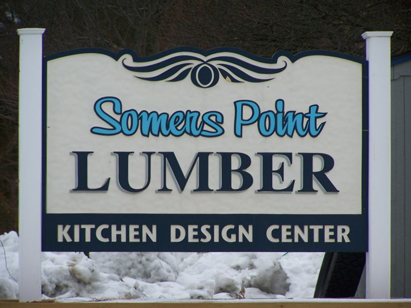 Sandblasted Commercial & Residential Signs
