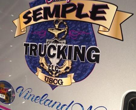 Truck Door Graphic