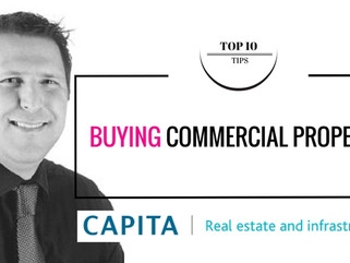 Buying Commercial Property for the First Time - 10 Top Tips