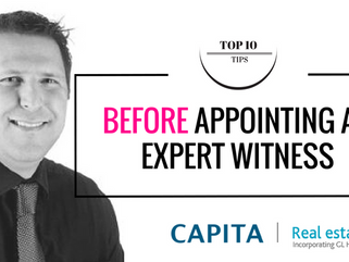 10 Top Tips to follow BEFORE appointing your Expert Witness