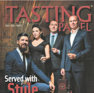 """Glenfiddich Ushers in its Second Annual Kindred Spirit Competition Served with Style."" The Tasting Panel"