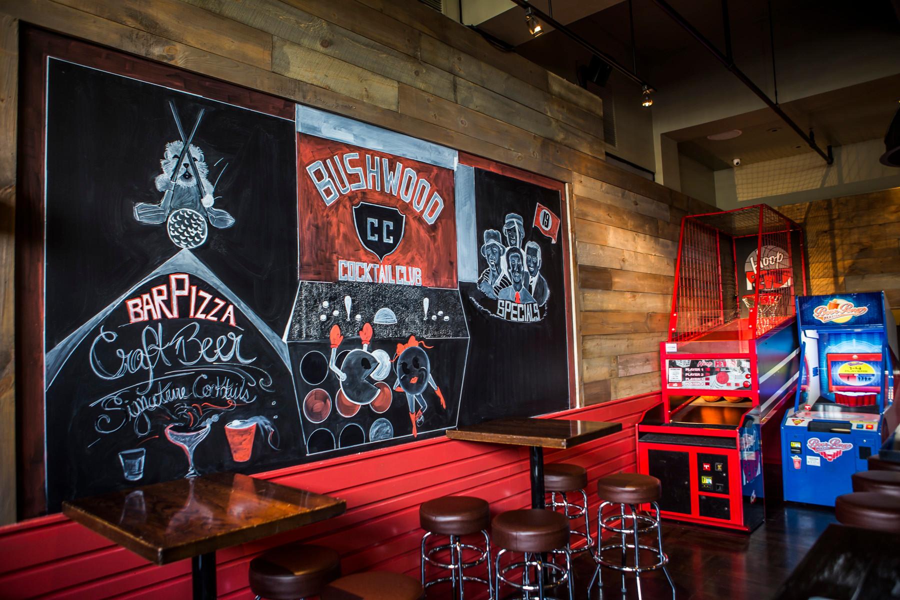 Arcade Bar in Boston | Bushwood Cocktail Club Boston
