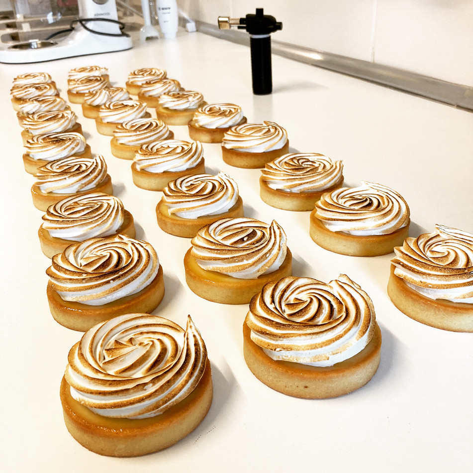 Lemon Meringue Tartelettes