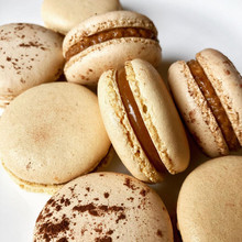 Salted Butter Caramel & Coffee Macaroons