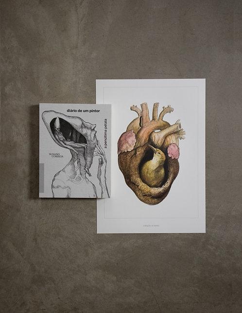 Livro - Diário de um Pintor + Poster coração de barro