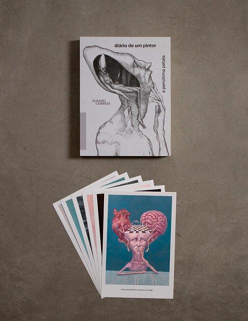 Livro - Diário de um Pintor + 6 prints - 7ª coleção