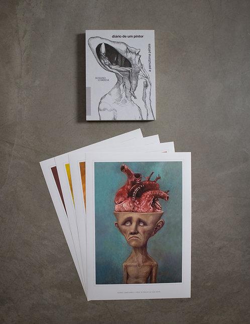Livro - Diário de um Pintor + 4 Posters kit 2