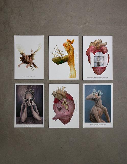 6 prints - 1º coleção