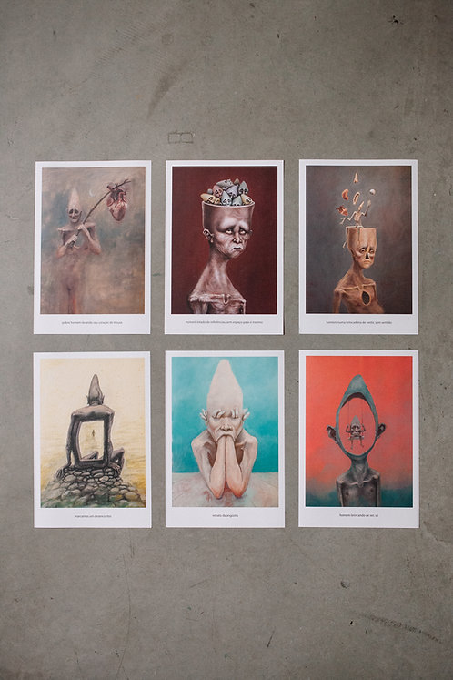 6 prints - 6º coleção