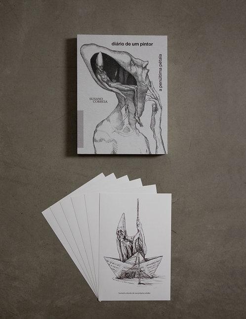 Livro - Diário de um Pintor + 6 prints - 4º coleção