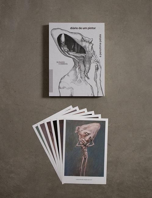 Livro - Diário de um Pintor + 6 prints - 2º coleção