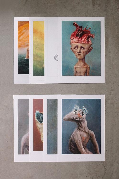 8 posters - kit 3
