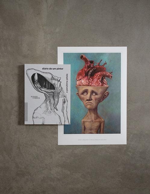 Livro - Diário de um Pintor + Poster à sua escolha